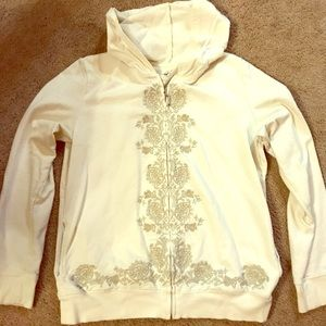 Embroidered hoodie, Style & Co.